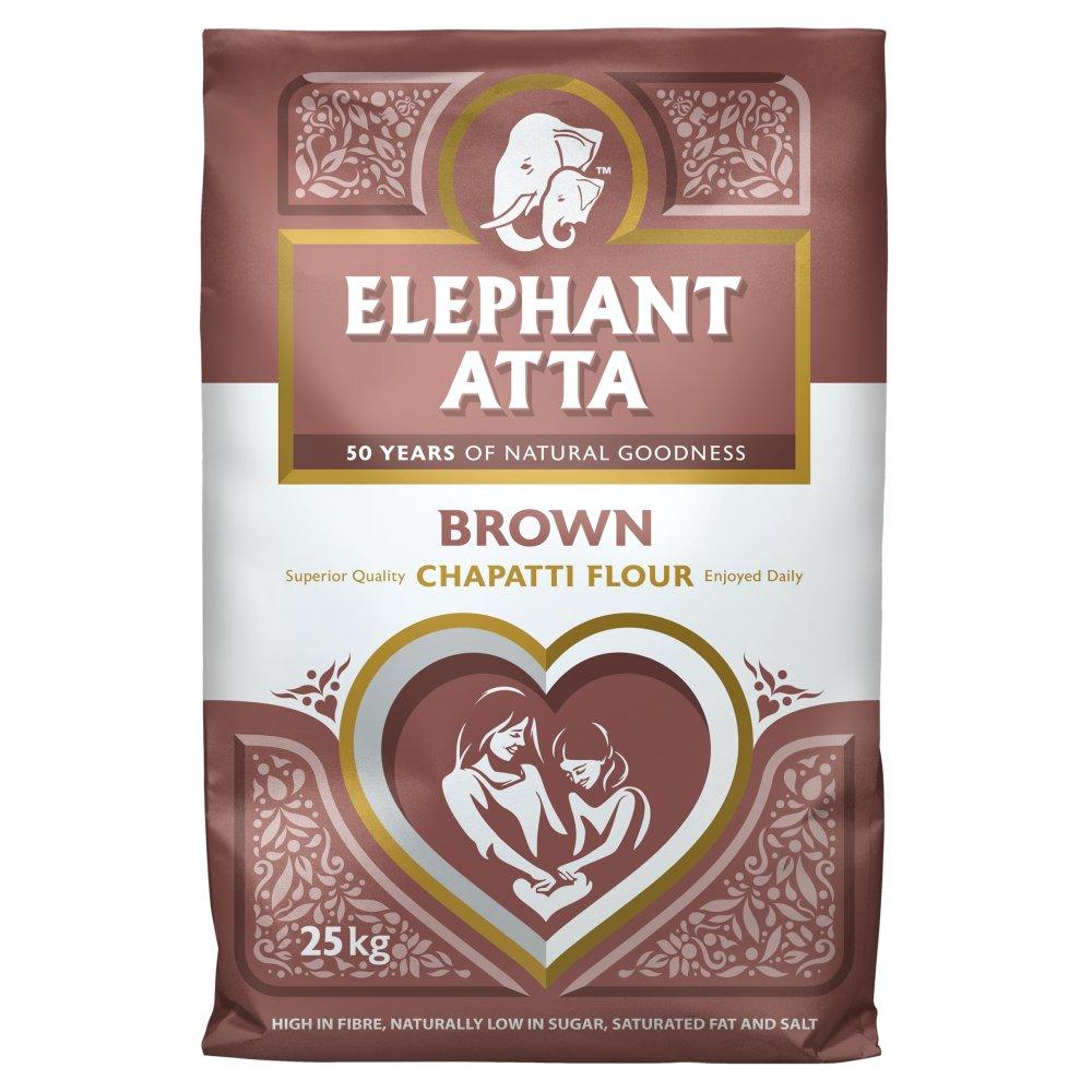 Elephant Atta Brown Chapatti Flour 25kg