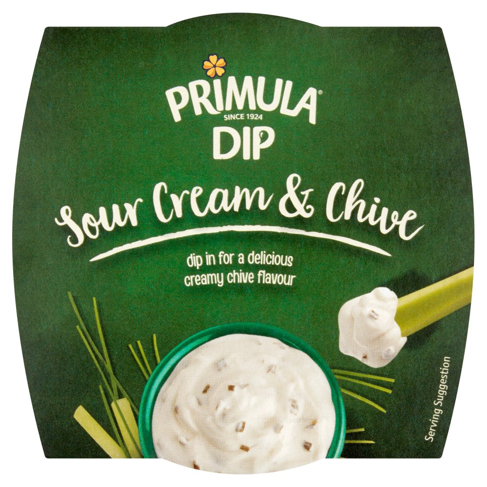 Primula Dip Sour Cream & Chive 150g