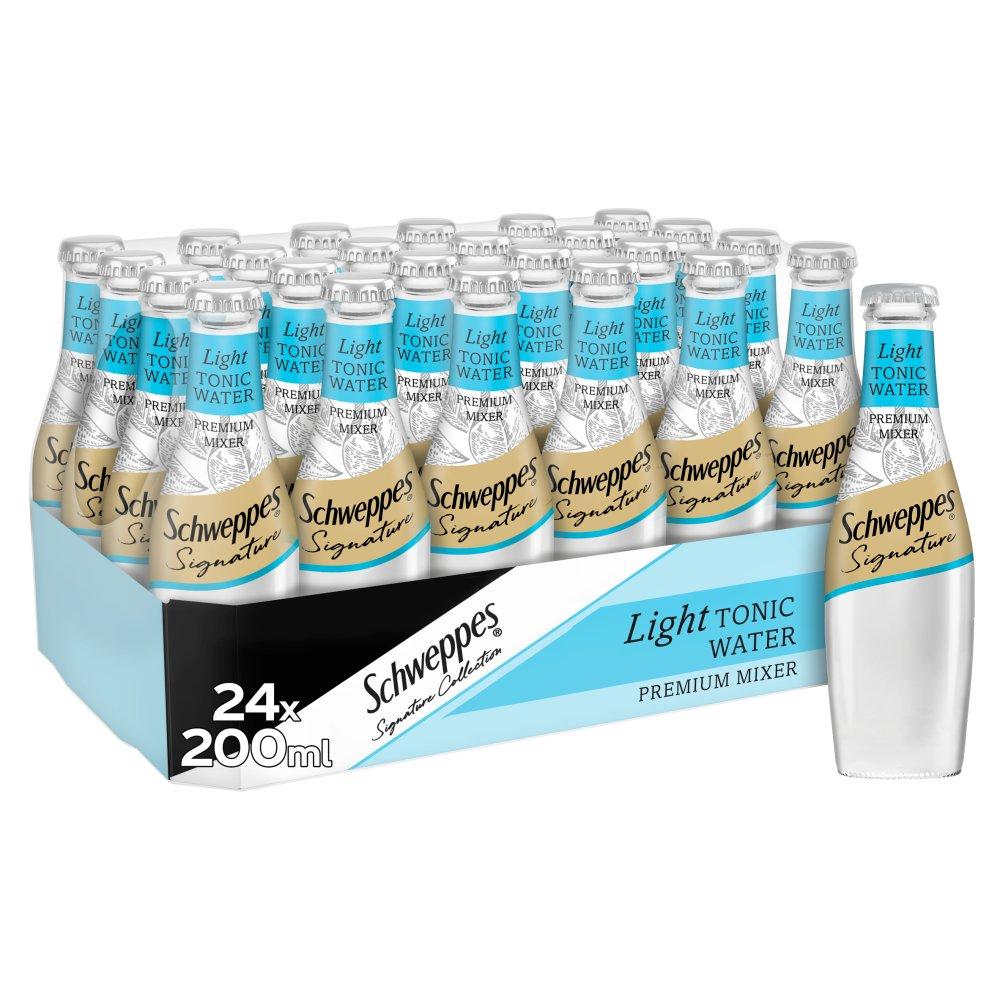 Schweppes 1783 Light Tonic Water 24 x 200ml