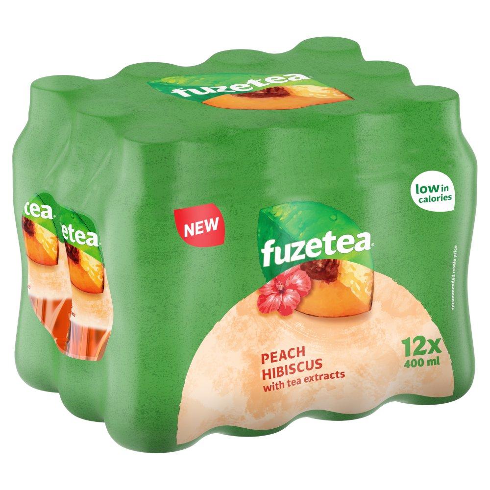 Fuze Tea Peach And Hibiscus 12 X 400ml Pmp 163 1 Bestway