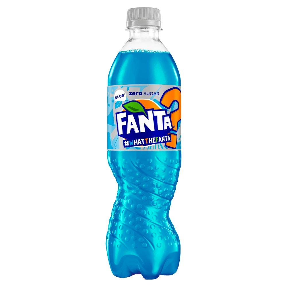 Fanta Zero What The Fanta Mystery Flavour 12 x 500ml PM £1.09