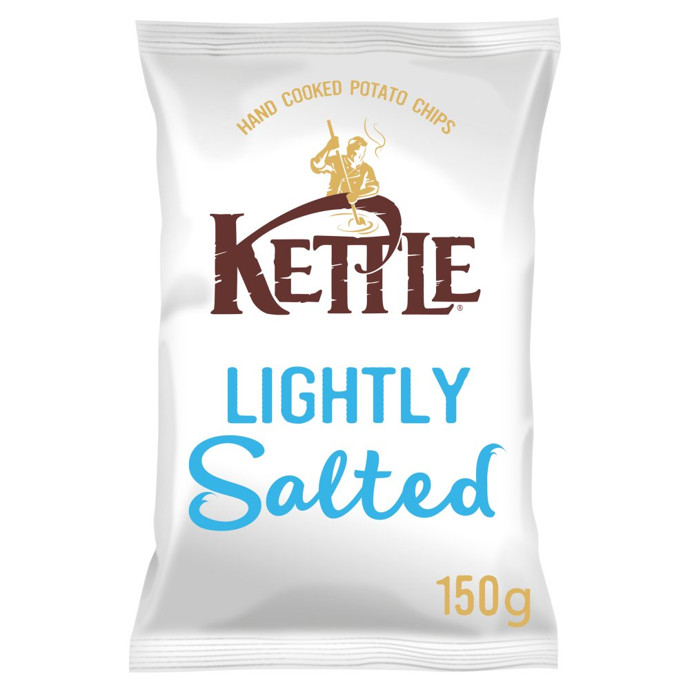 Kettle Chips Lightly Salted 100g PM £1.29