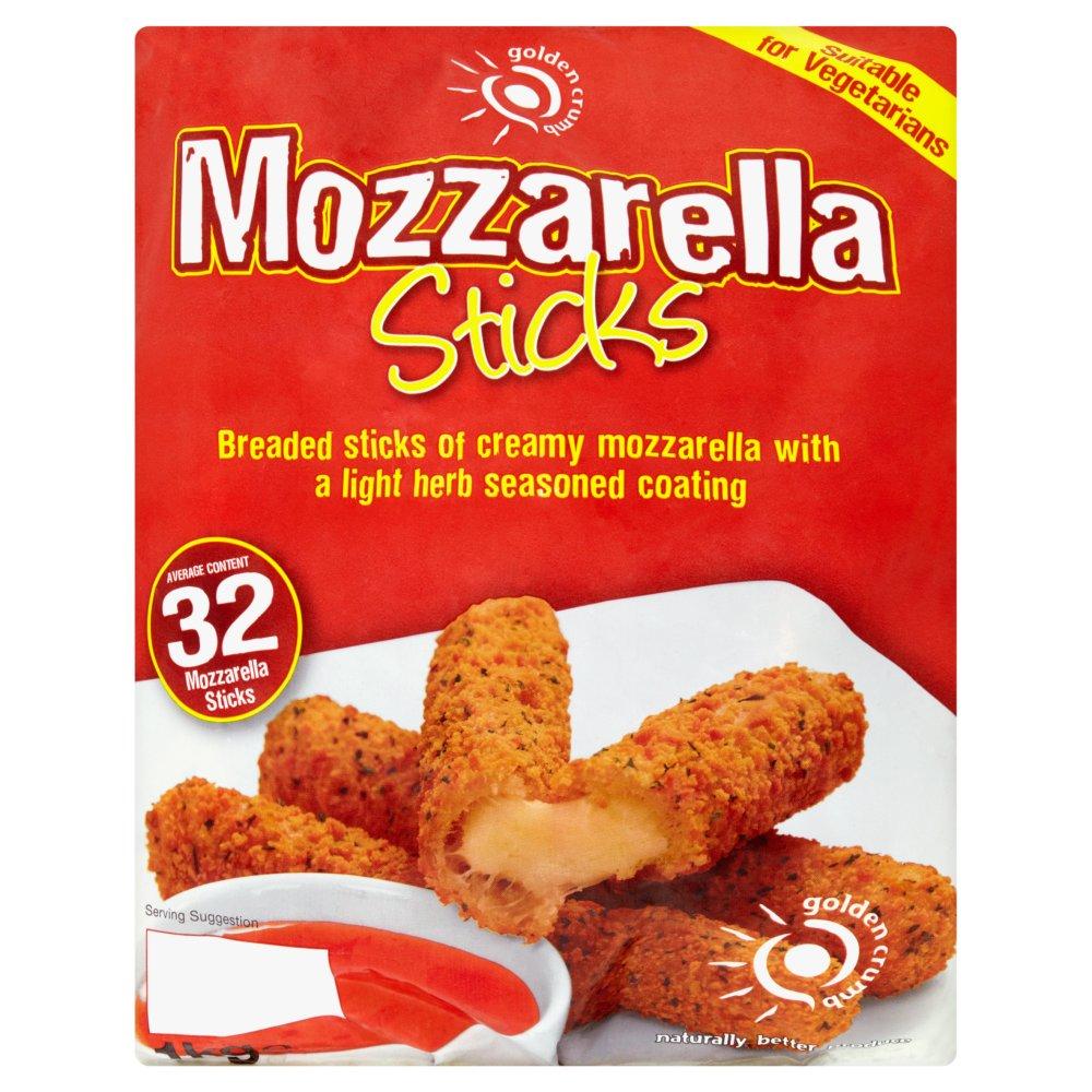 Golden Crumb 32 Mozzarella Sticks 1kg
