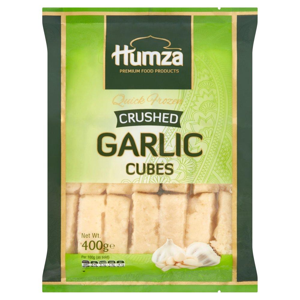 Humza Premium Food Products Crushed Garlic Cubes 400g
