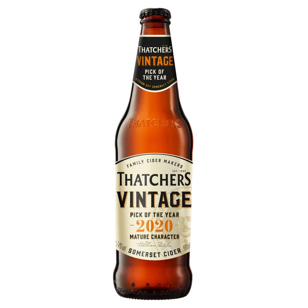 Thatchers Oak Aged Vintage Somerset Cider 500ml