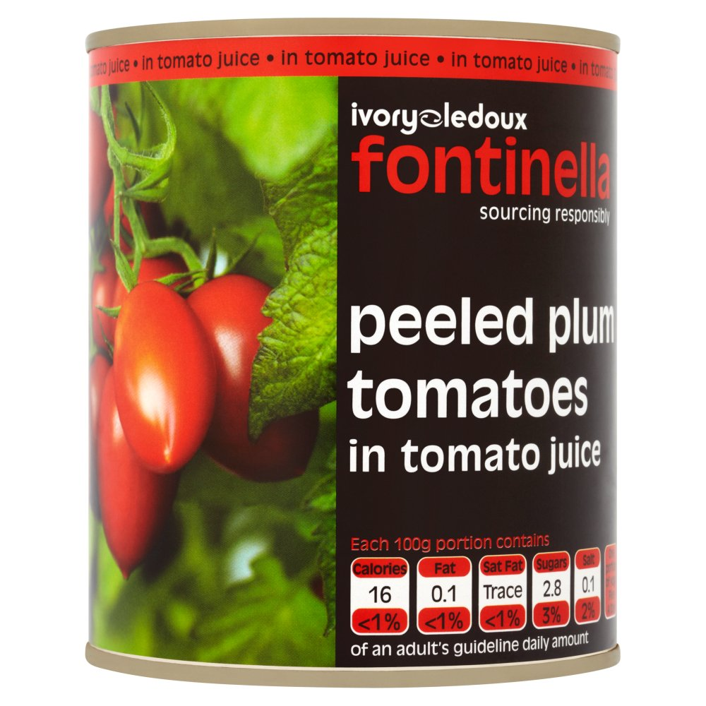 Packer Label Tomatoes Peeled Plum