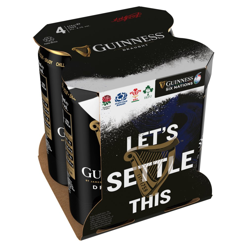 Guinness Draught Cans 440ml