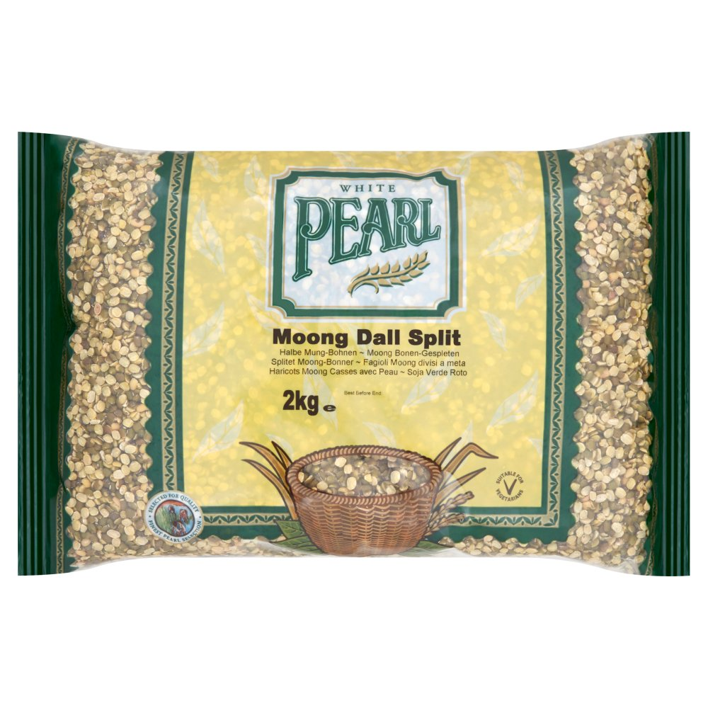 White Pearl Moong Dall Split 2kg