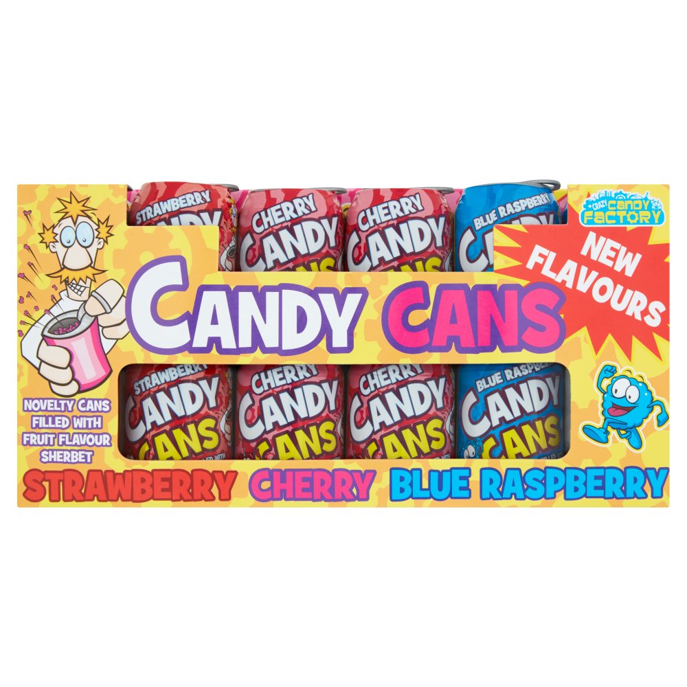 Crazy Candy Factory Candy Cans 36 x 13g