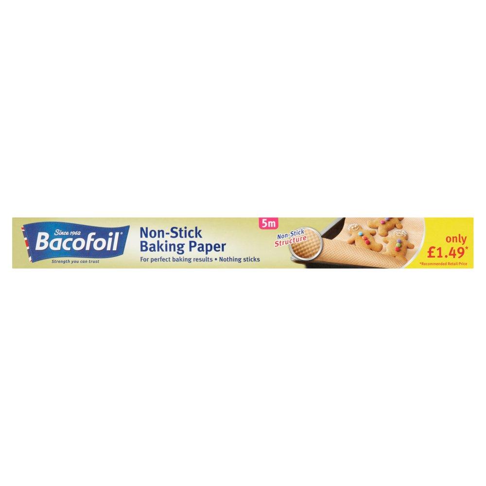 Bacofoil® Non-Stick Baking Paper 38cm x 5m £1.49 PMP
