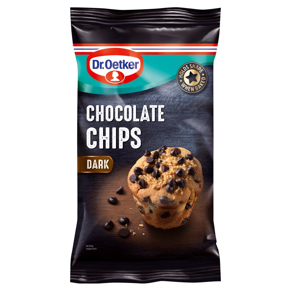 Supercook Real Plain Choc Chips 100g
