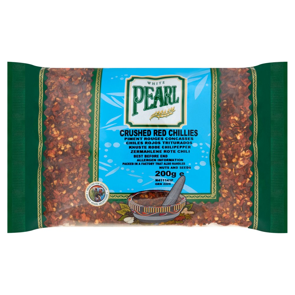 White Pearl Chilli Red Crushed