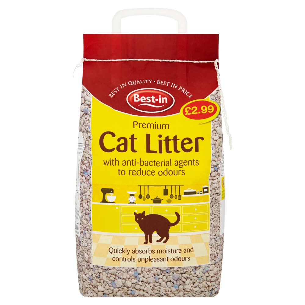 Bestin Anti Bacterial Cat Litter PM £2.99