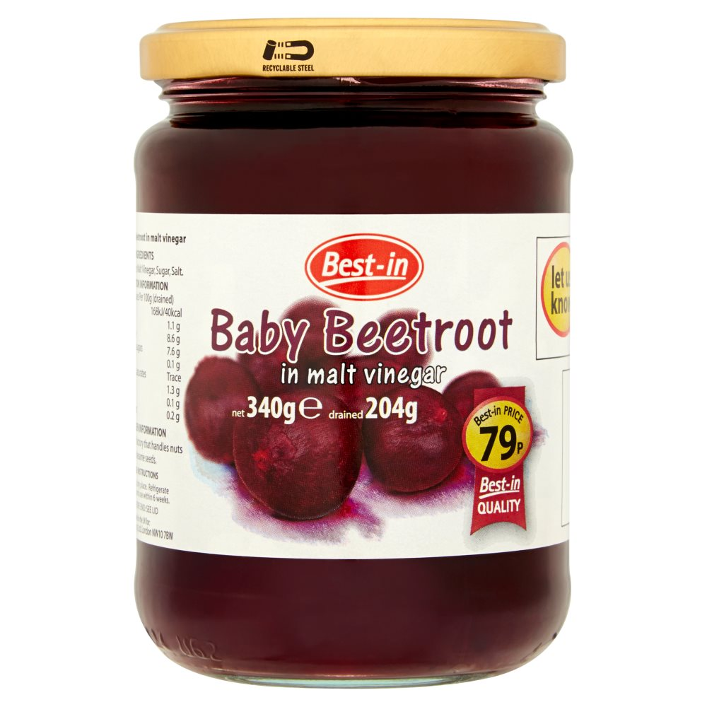 Bestin Baby Beetroot PM 79p 340g