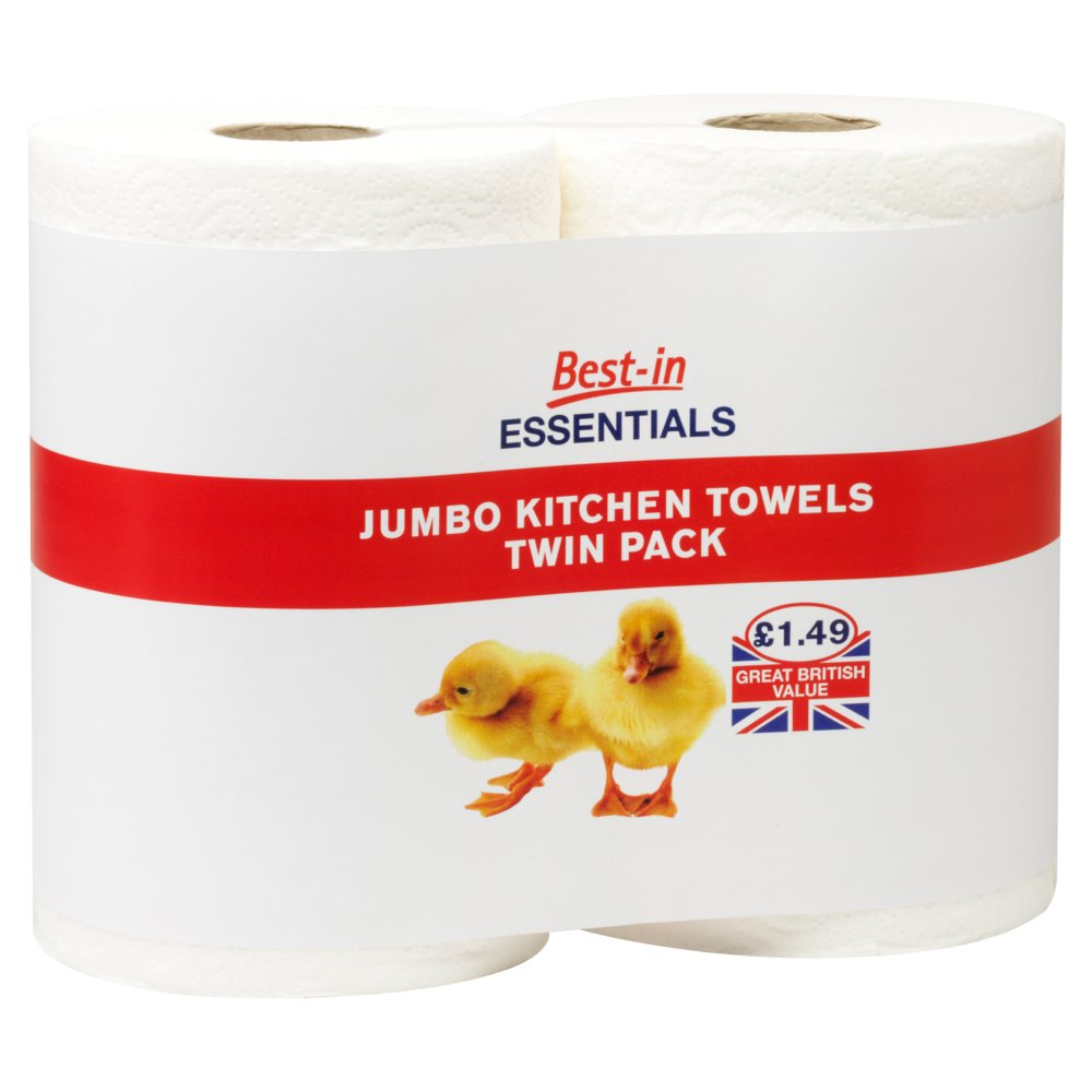 Bestin Essentials Jumbo Kitchen Towel PM £1.49