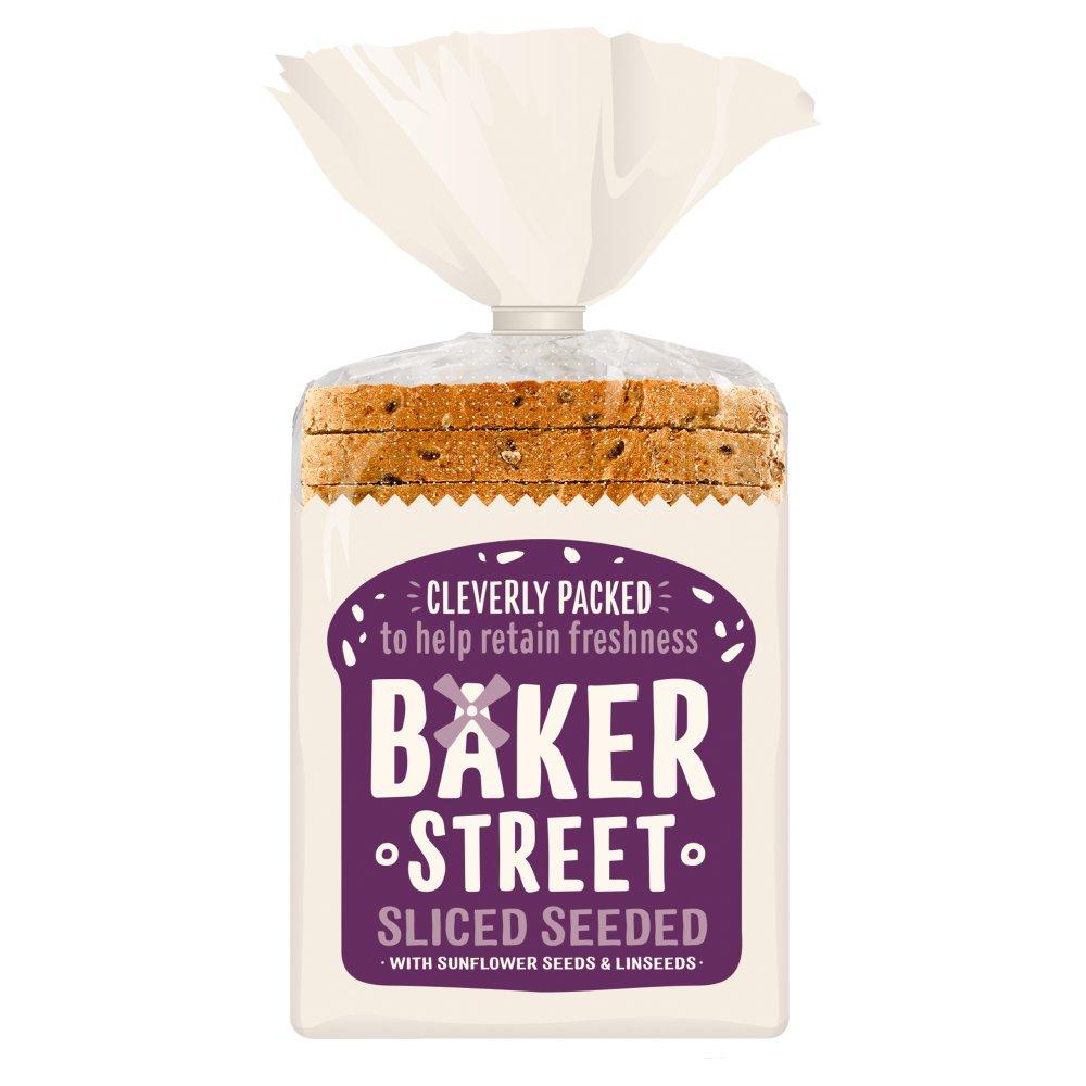 Baker Street Sliced Seeded Loaf 550g