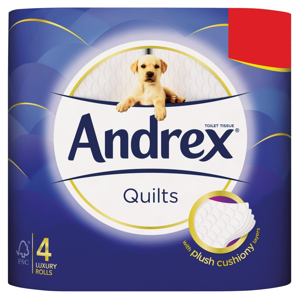 Andrex £1.69 Quilts