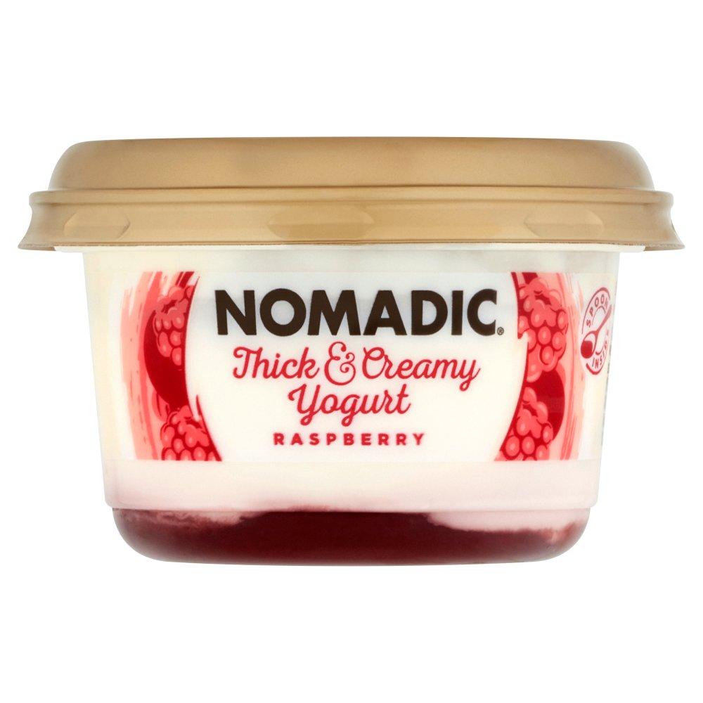 Nomadic Thick & Creamy Yogurt Raspberry 160g
