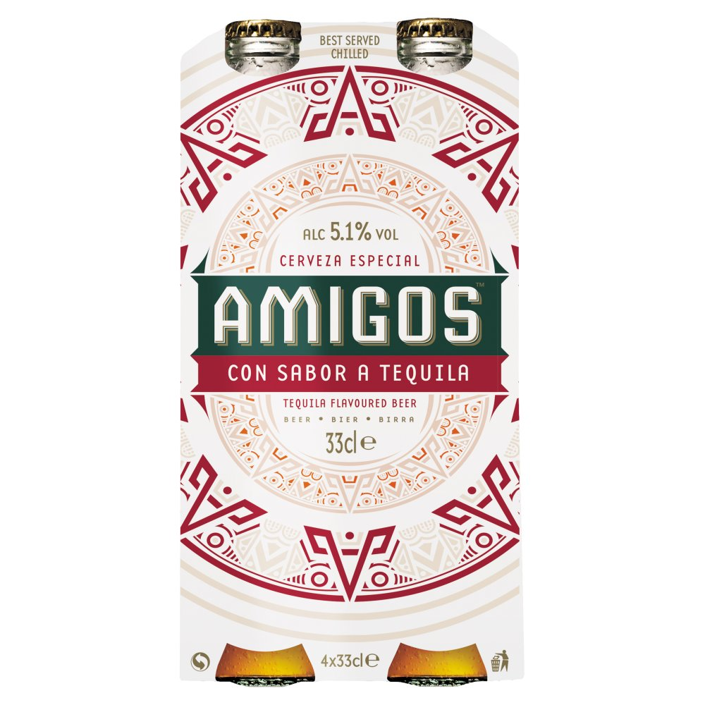 Amigos Tequila Beer 4pack