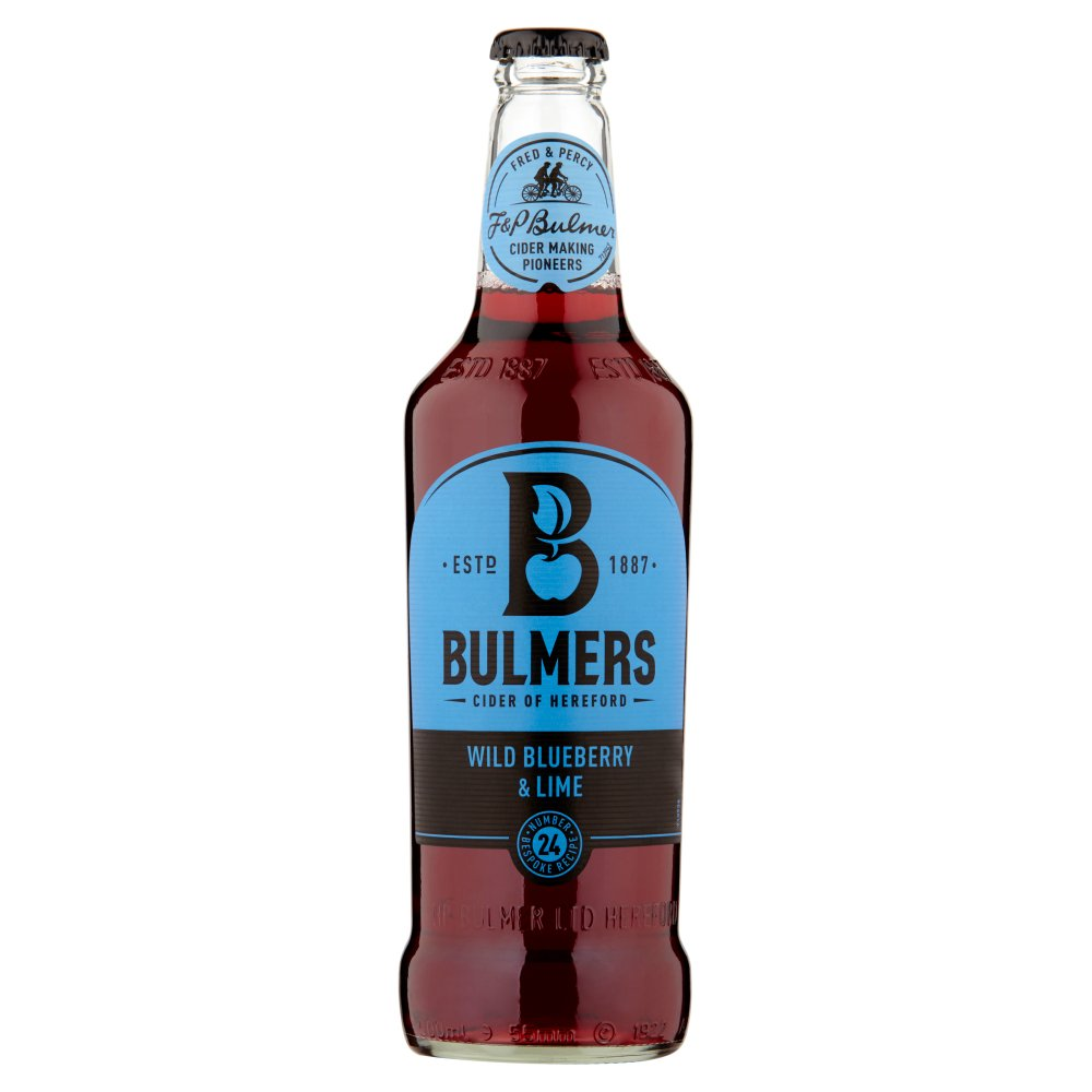 Bulmers Blueberry & Lime NRB