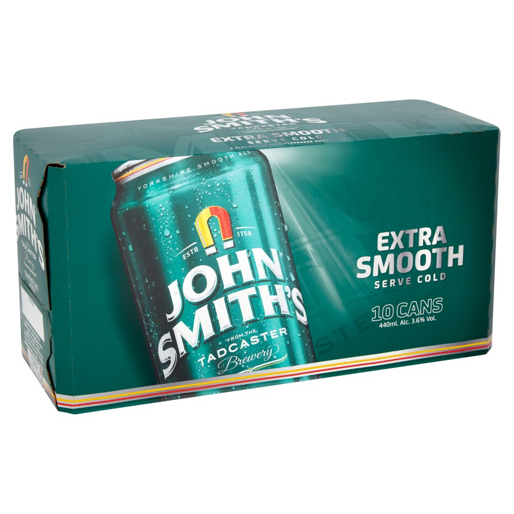 John Smith's Extra Smooth Ale 10 x 440ml Cans