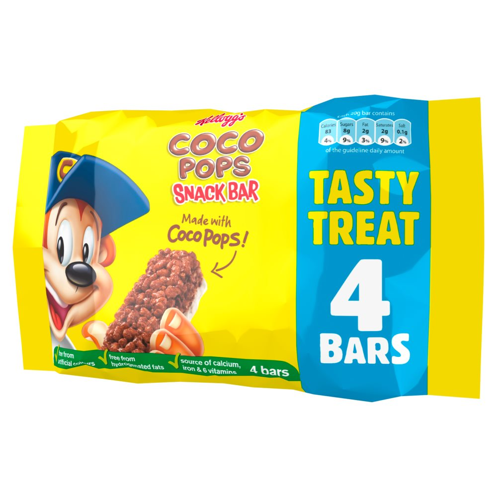 Kelloggs Coco Pops Cereal Milk Bar