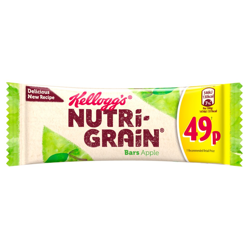 Kellogg's Nutri-Grain Bars Apple 25 x 37g