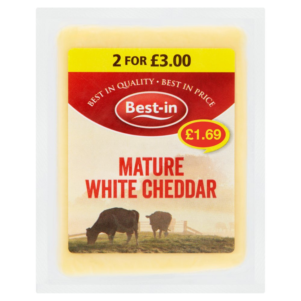 Best-in Mature White Cheddar 200g