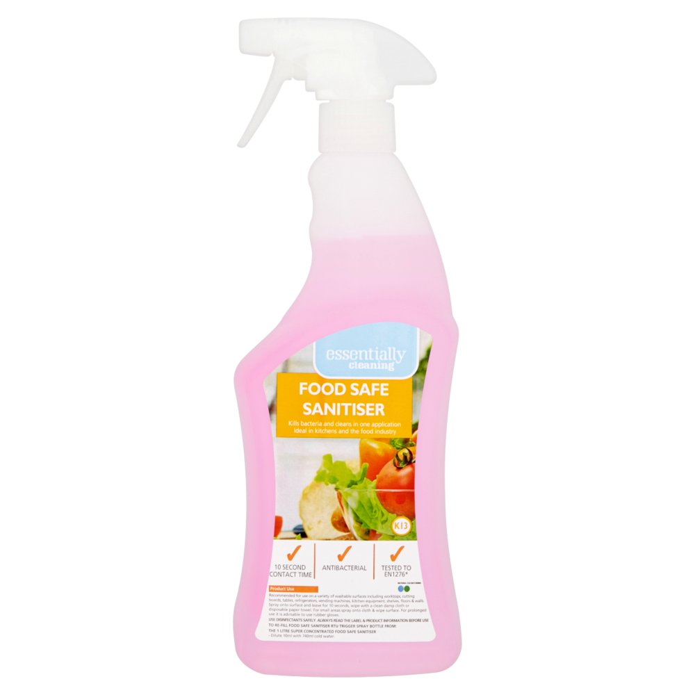 Essentially Cleaning Food Safe Sanitiser K13 750ml