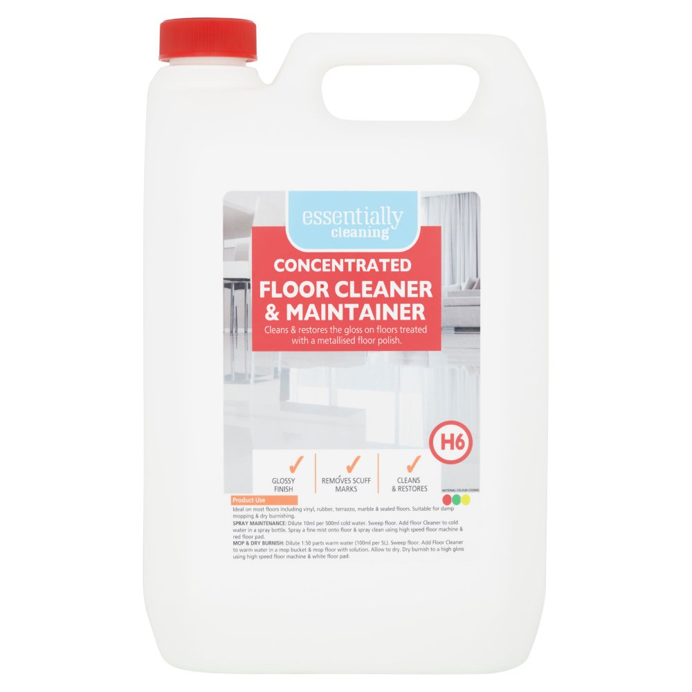 Essentially Cleaning Concentrated Floor Cleaner & Maintainer H6 5L