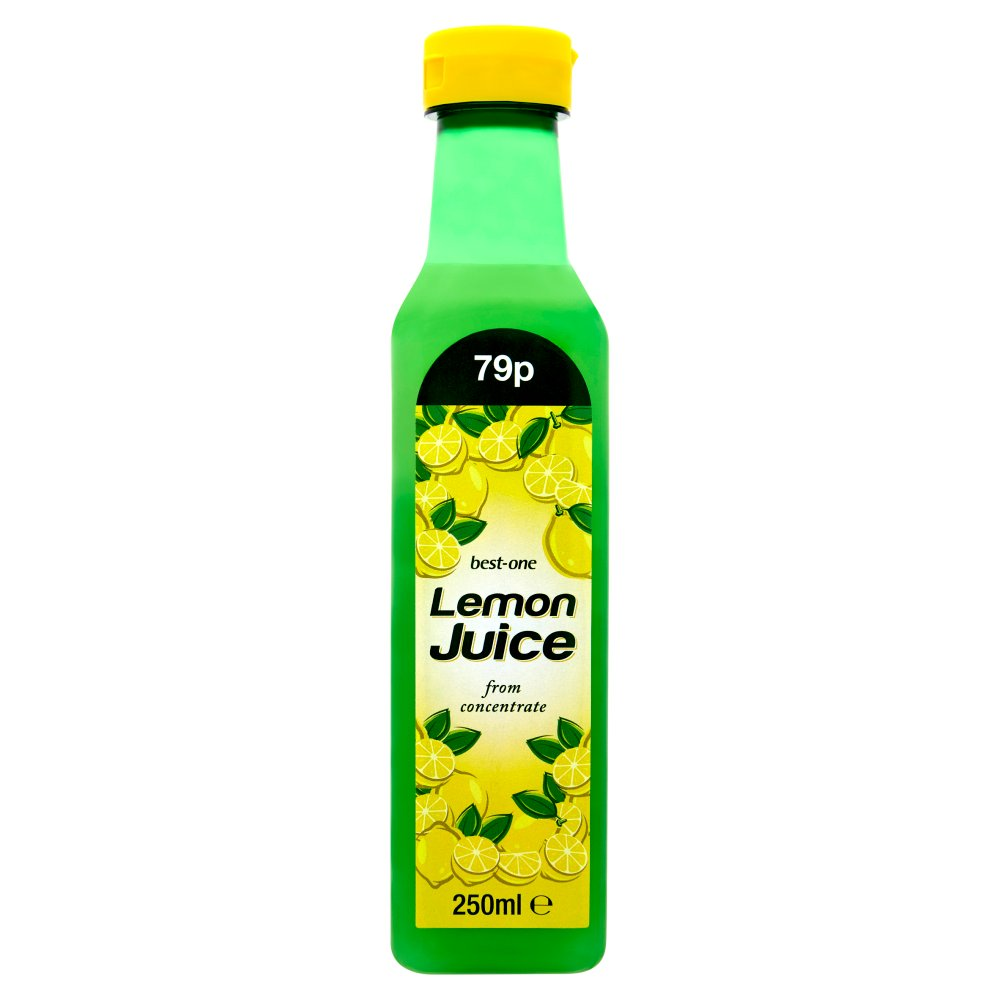 Best-One Lemon Juice from Concentrate 250ml