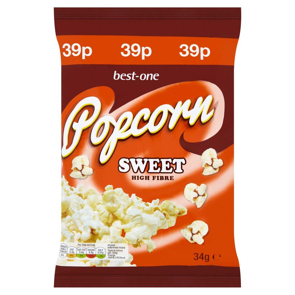 Best-One Sweet Popcorn 34g