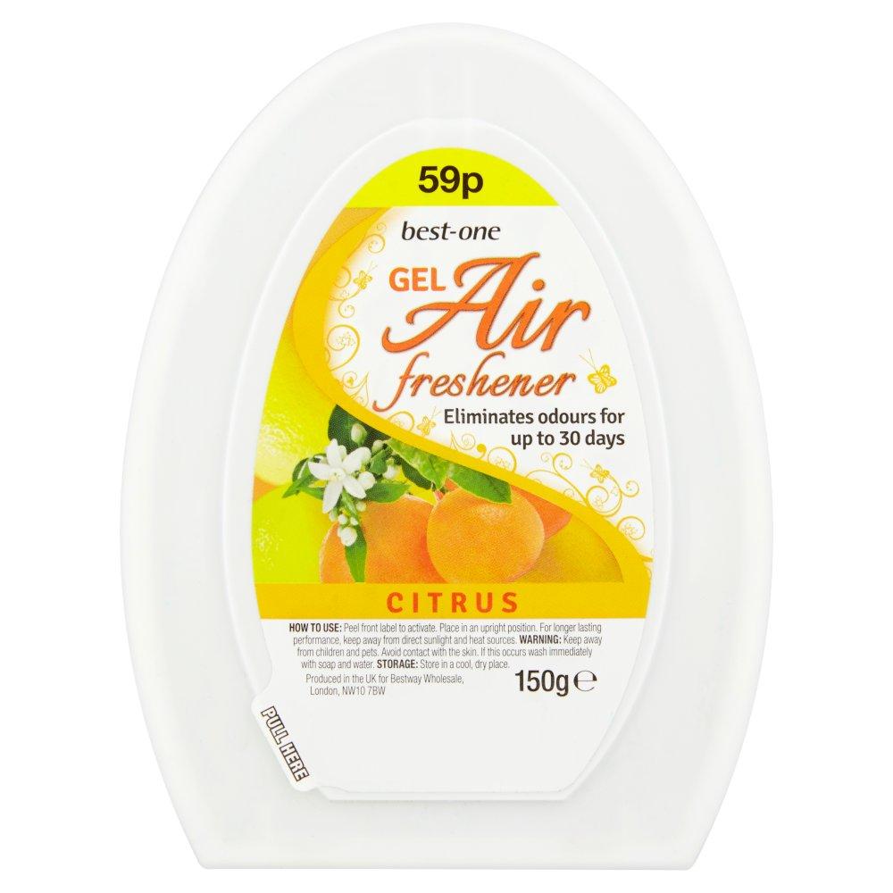 Best-One Gel Air Freshener Citrus 150g