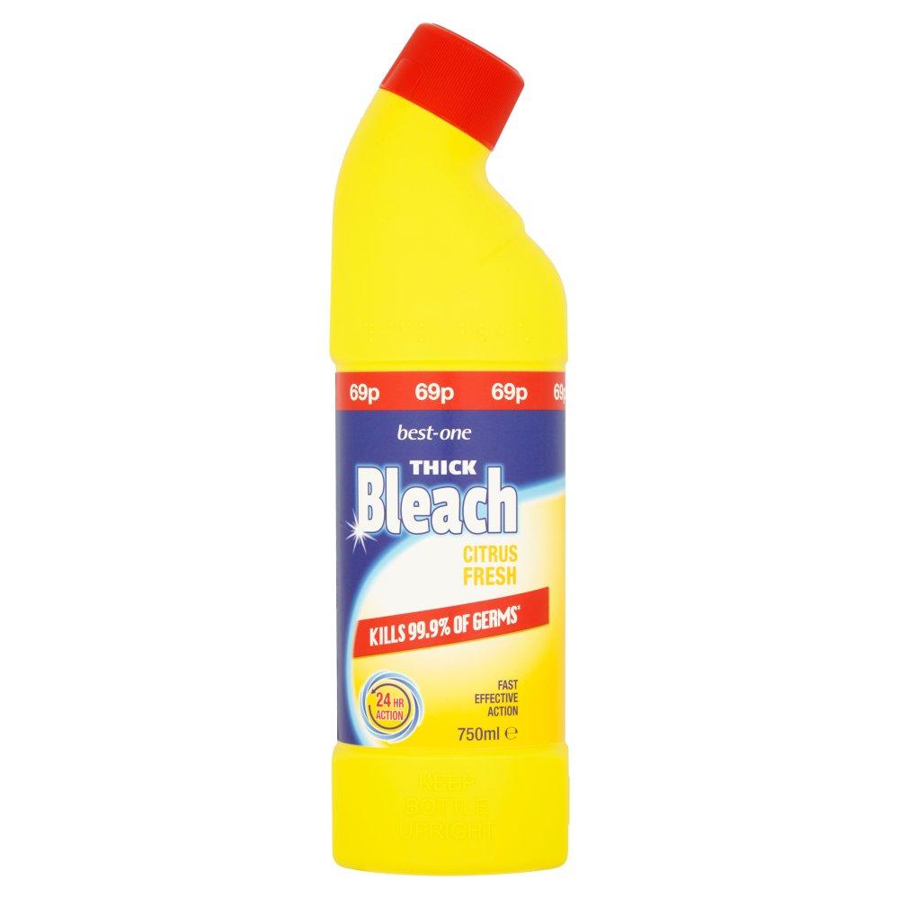 Best-One Thick Bleach Citrus Fresh 750ml