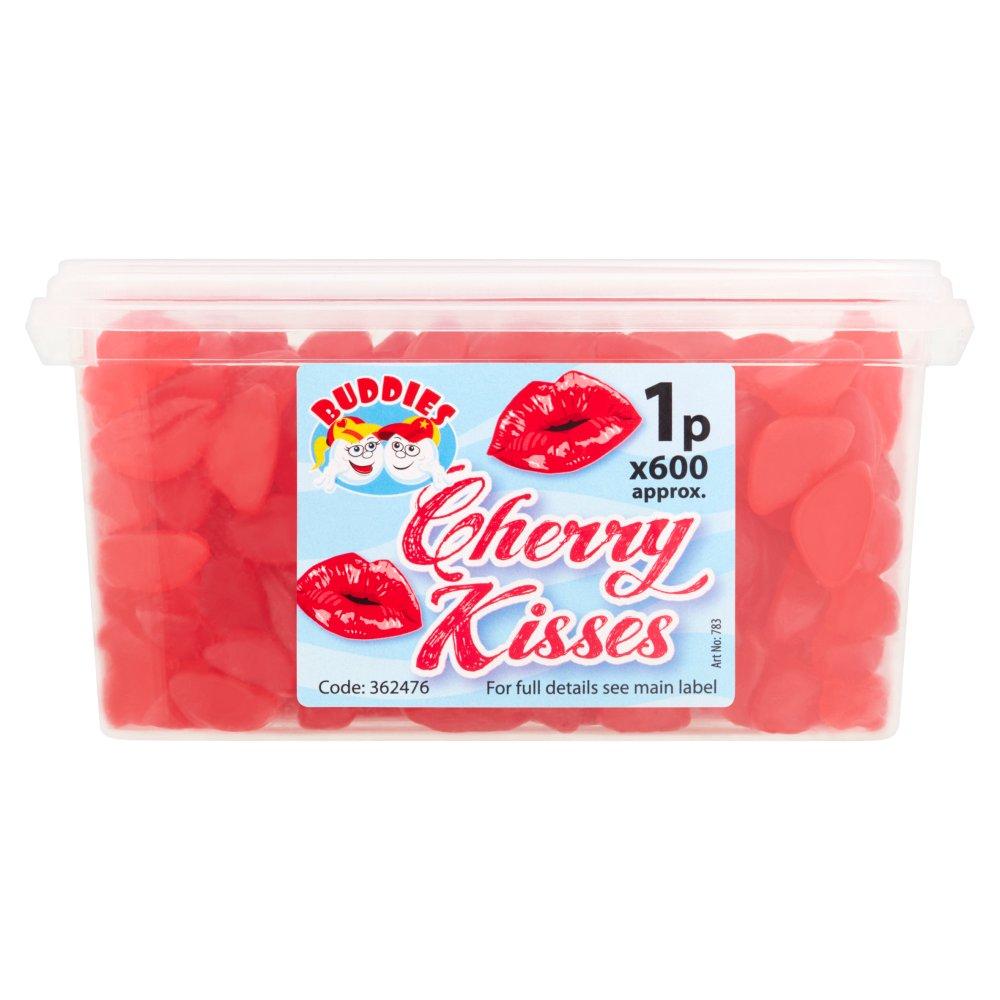 Buddies Cherry Kisses Fruit Flavour Sweets