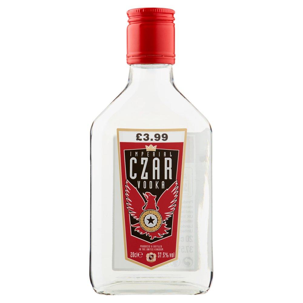 Imperial Czar Vodka 20cl