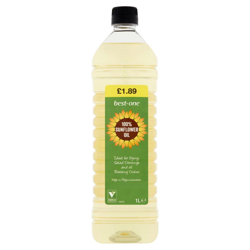Best-One 100% Sunflower Oil 1L