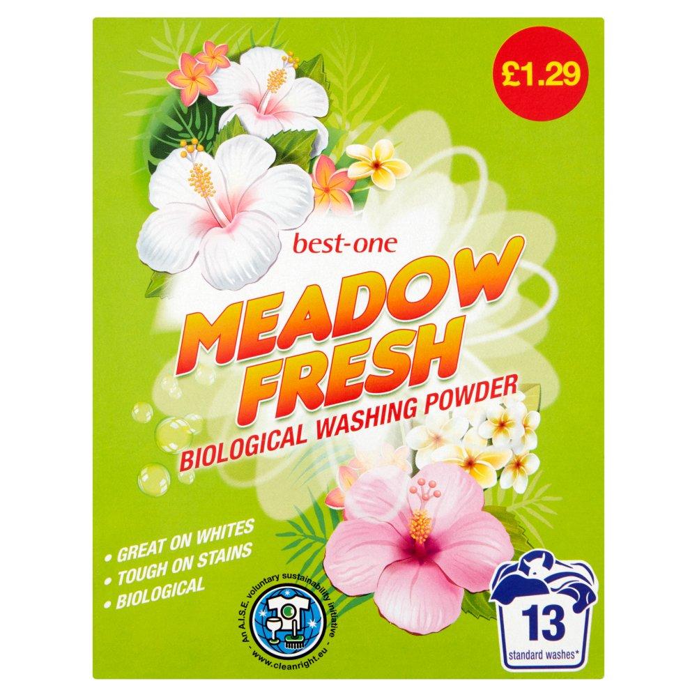 Best-One Meadow Fresh Biological Washing Powder 884g