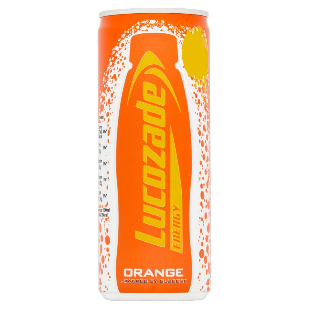 Lucozade Energy Orange Can 59p