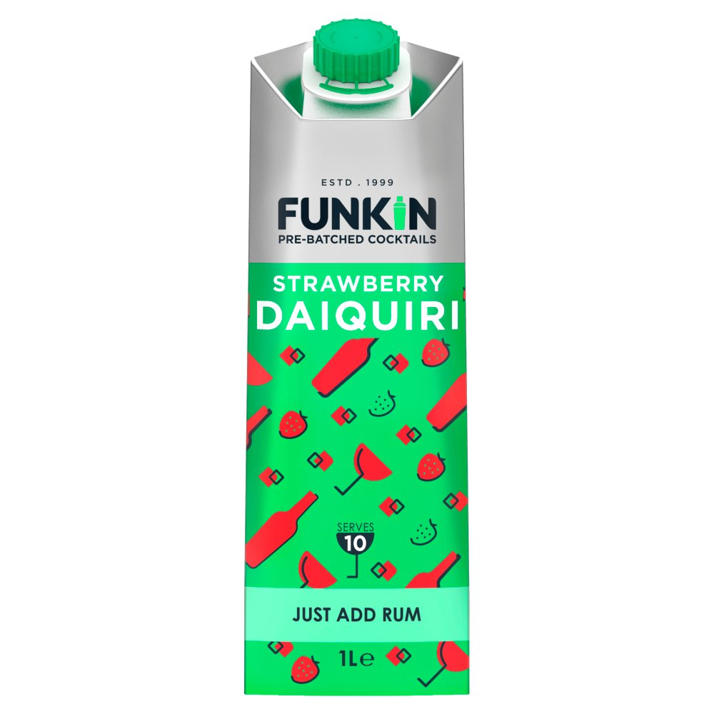 Funkin Cocktail Mixer Strawberry Daiquiri 1L