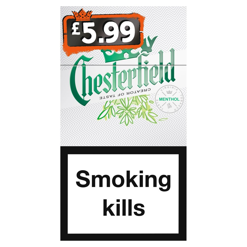 Chesterfield Superking Menthol £5.99