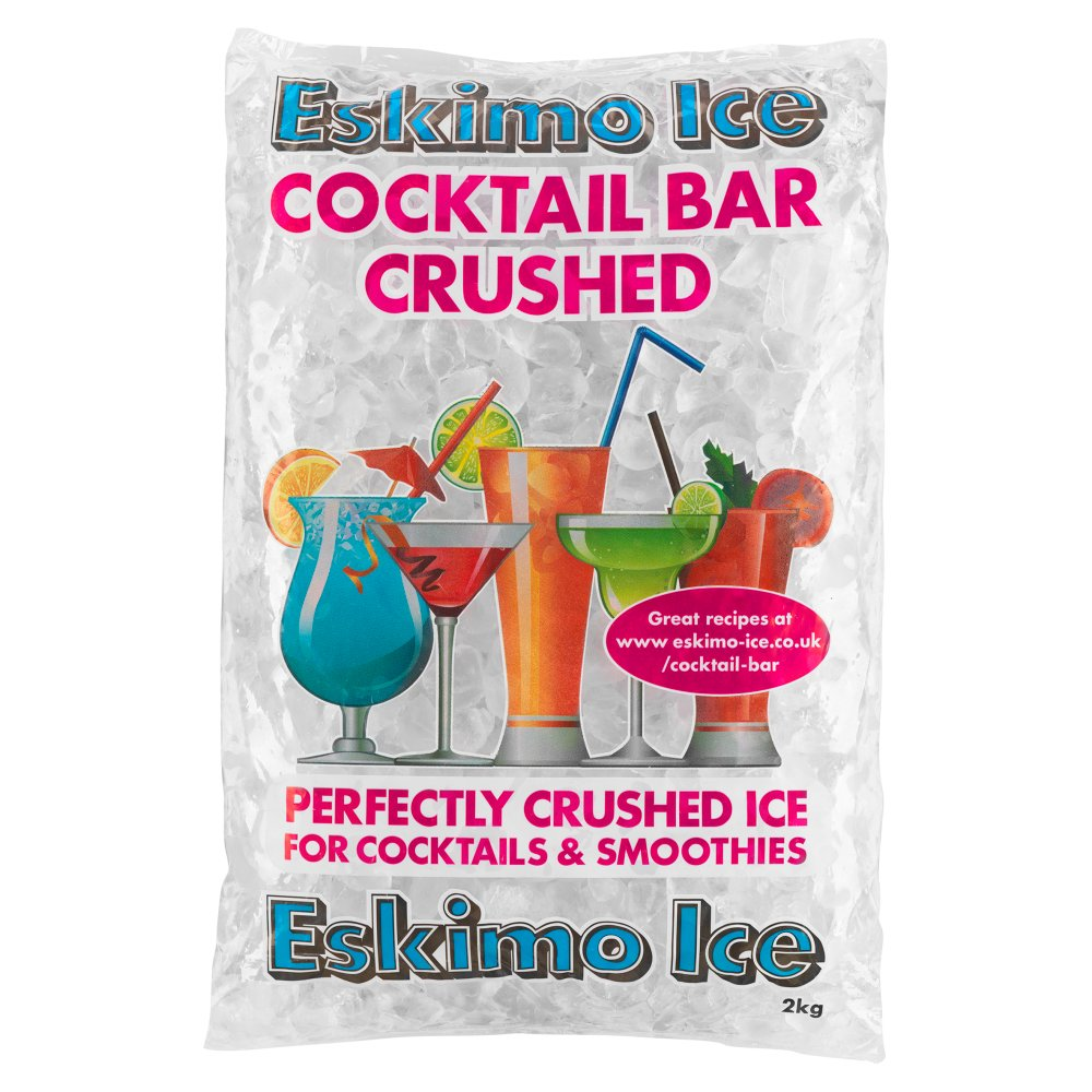 Eskimo Ice Cocktail Bar Crushed Ice 2kg