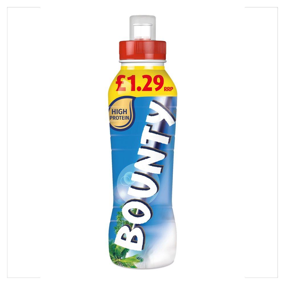 Bounty Coconut & Chocolate Milk Shake Drink No Added Sugar 350ml