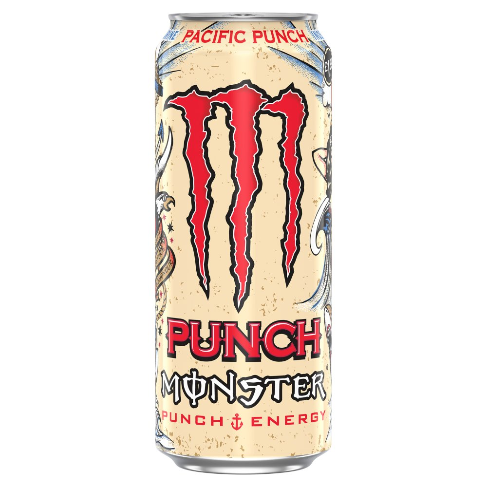 Monster Energy Pacific Punch 500ml PM £1.39