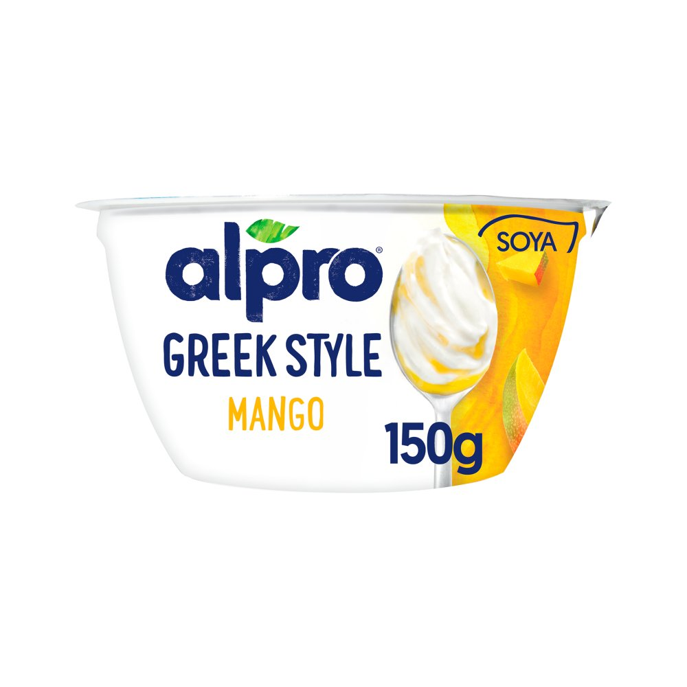 Alpro Greek Style Mango Yoghurt Alternative 150g