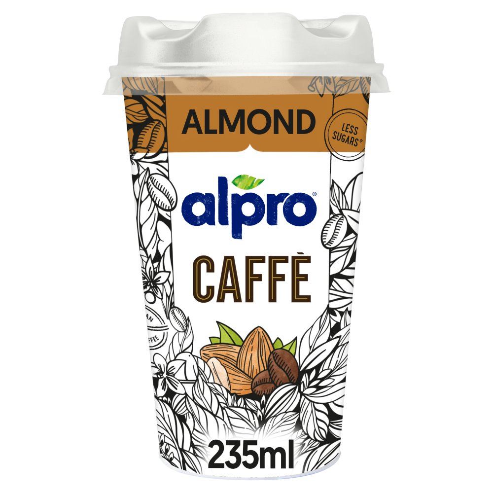 Alpro Caffè Brazilian Coffee & Almond Blend 235ml