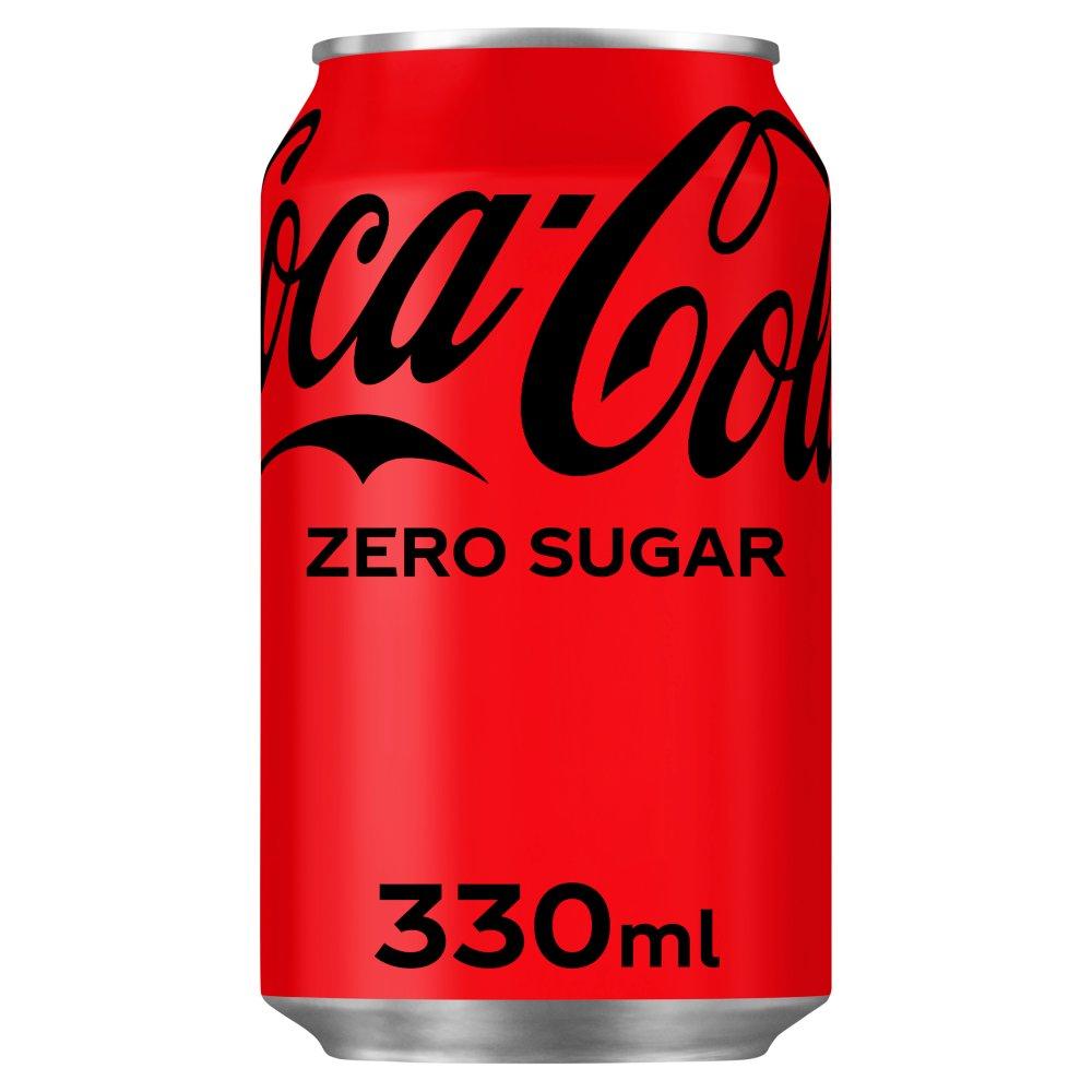 Coca-Cola Zero Sugar 330ml