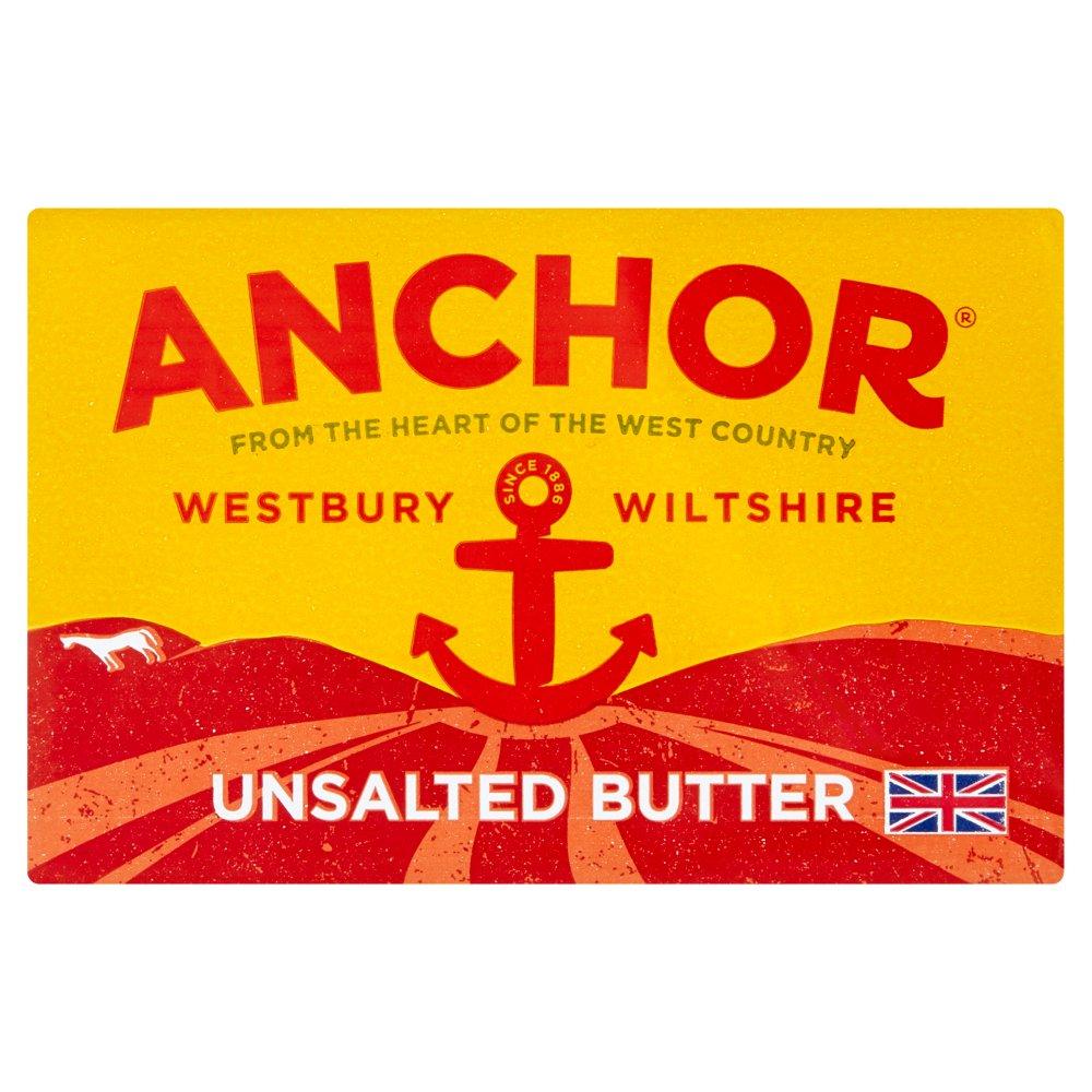 Anchor Unsalted Block Butter 250g