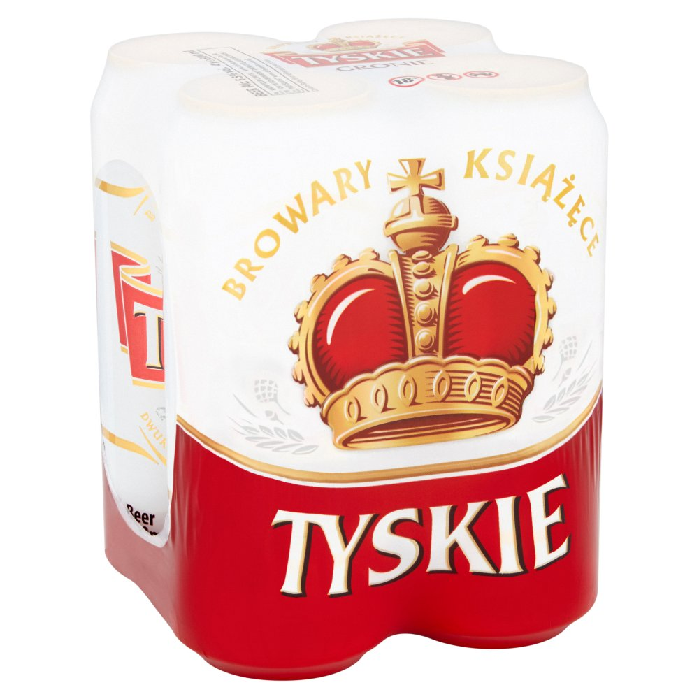 Tyskie Can 4pack 5.5percent