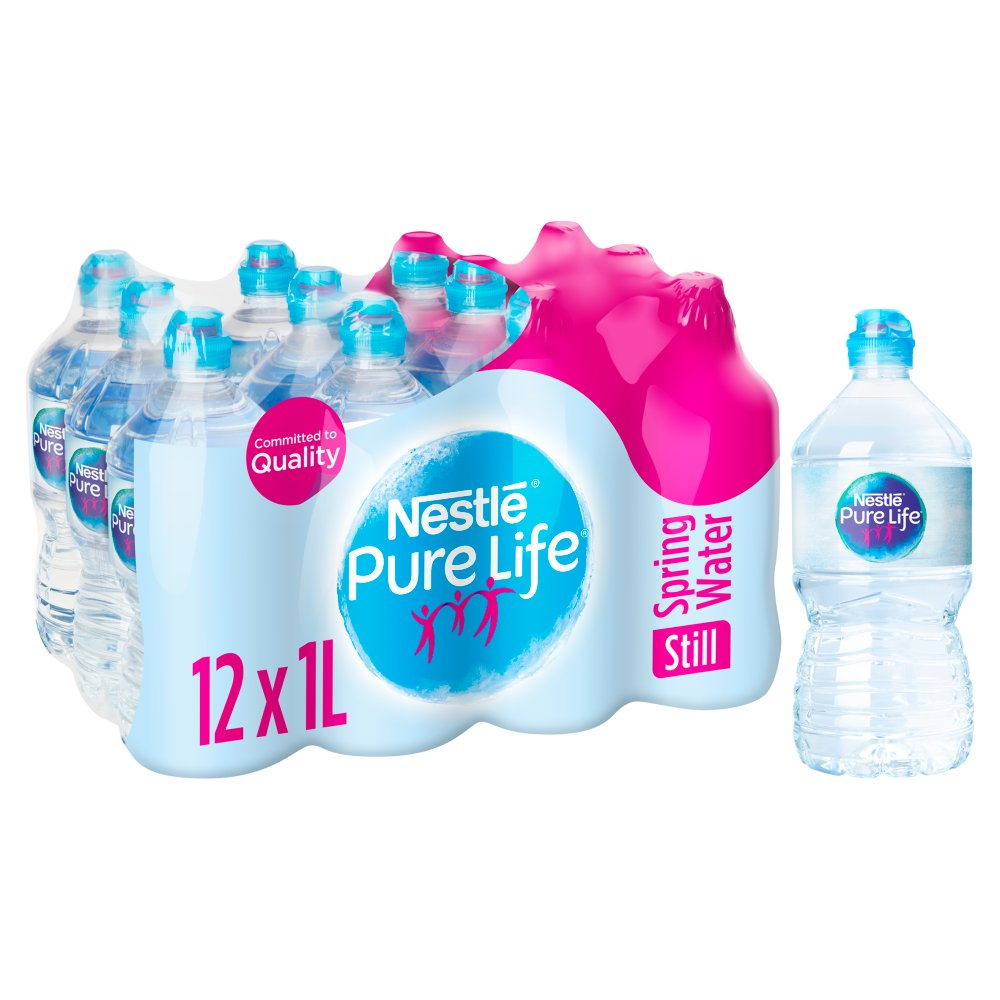 Nestle Pure Life Still Spring Water 12x1L